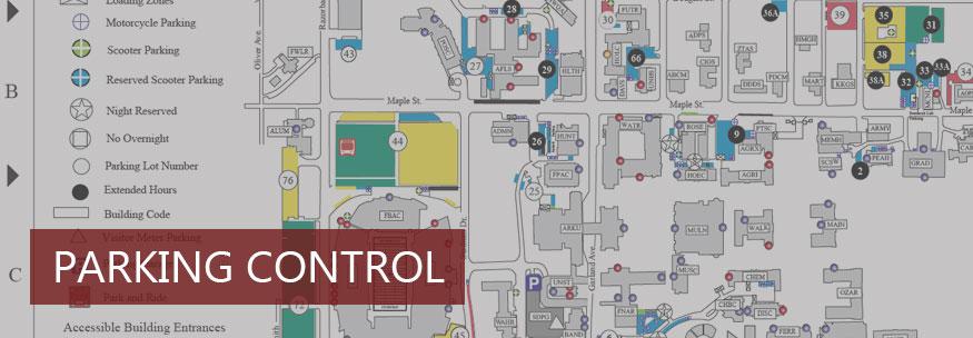 Uark Parking Map Parking Control | Transit and Parking | University of Arkansas Uark Parking Map